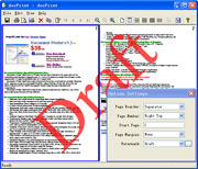 Document Printer Pro (docPrint Pro) screenshot